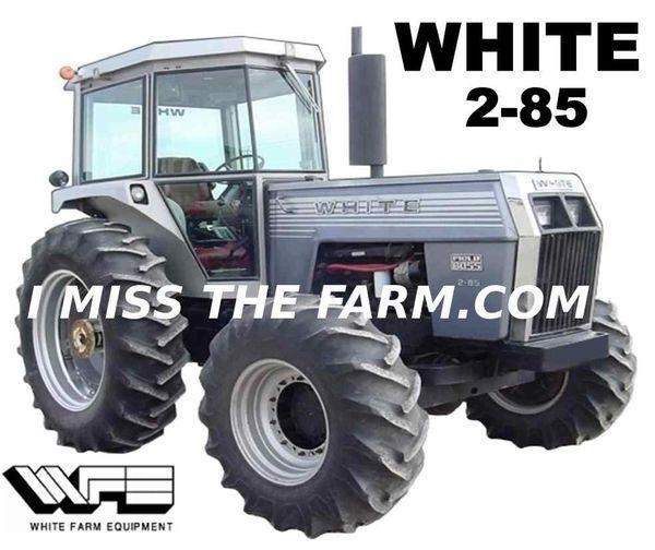 WHITE 2-85 4X4 SWEATSHIRT
