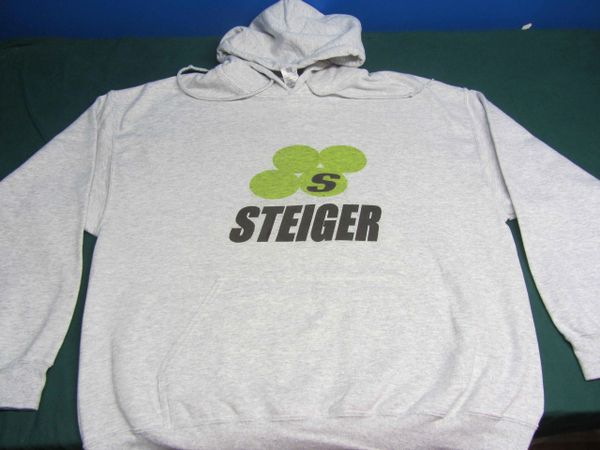 STEIGER LOGO HOODED SWEATSHIRT