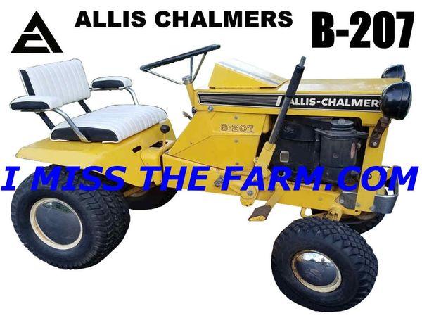 ALLIS CHALMERS B207 W/O DECK TRAVEL MUG