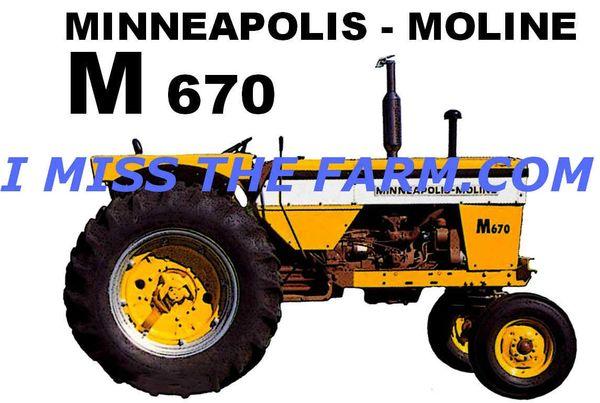 MINNEAPOLIS MOLINE M670 TRAVEL MUG