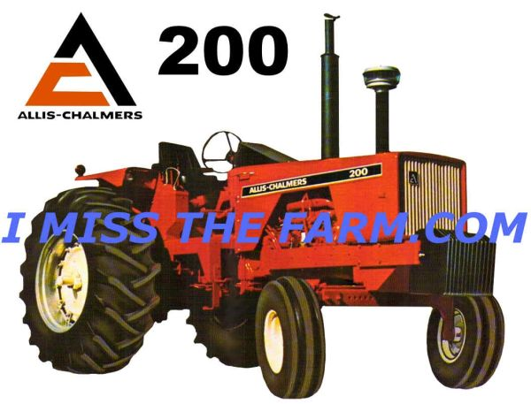 ALLIS CHALMERS 200 (open station) SWEATSHIRT