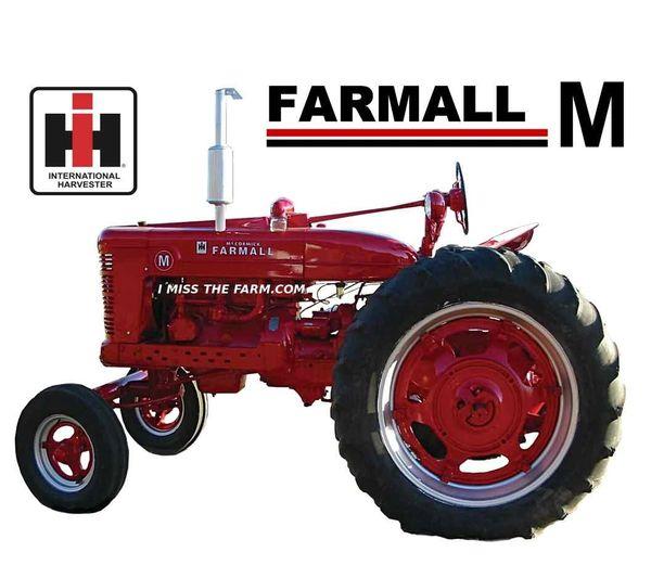 FARMALL M WF MOUSEPAD