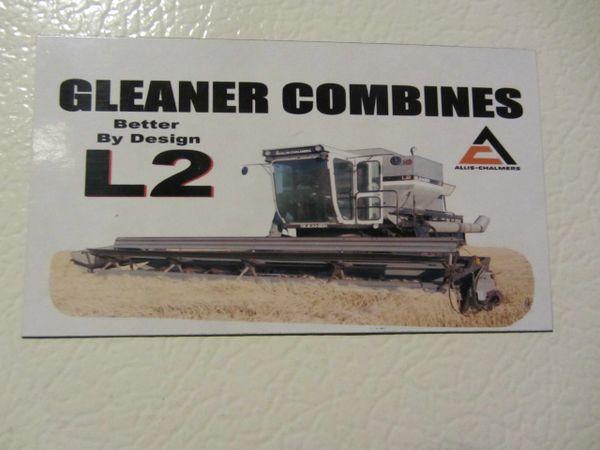 GLEANER L2 Fridge/toolbox magnet