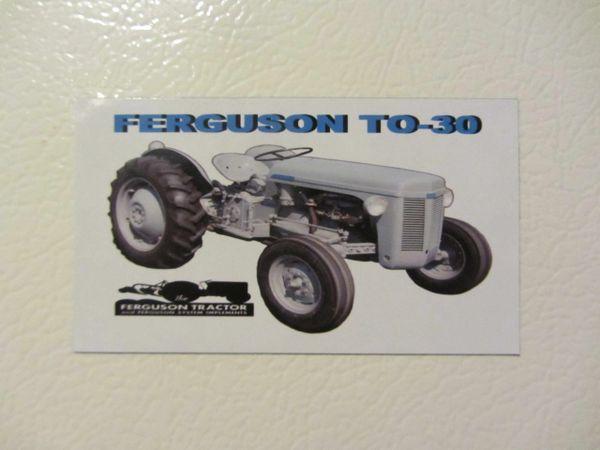 FERGUSON T0-30 Fridge/toolbox magnet