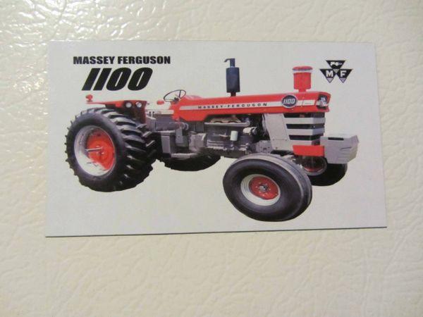 MASSEY FERGUSON 1100 Fridge/toolbox magnet