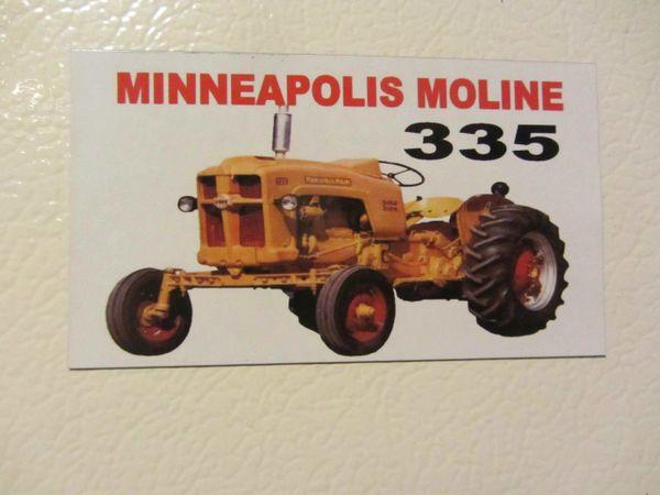 MINNEAPOLIS MOLINE 335 Fridge/toolbox magnet