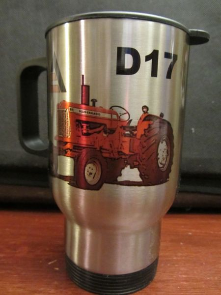 ALLIS CHALMERS D17 TRAVEL MUG