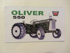 OLIVER 550 (IMAGE #2) Fridge/toolbox magnet