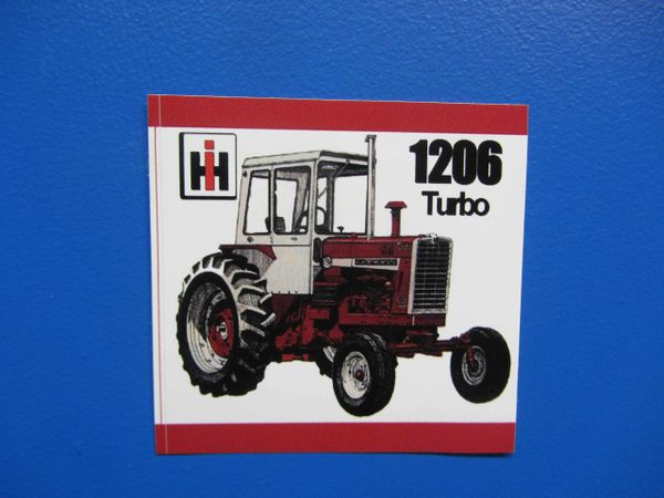 IH 1206 BUMPER STICKER/DECAL