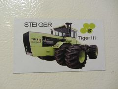 STEIGER TIGER III Fridge/toolbox magnet