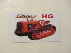 CLETRAC HG Fridge/toolbox magnet