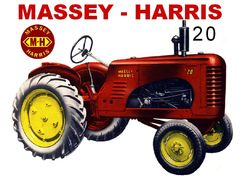 MASSEY HARRIS 20 WF TEE SHIRT
