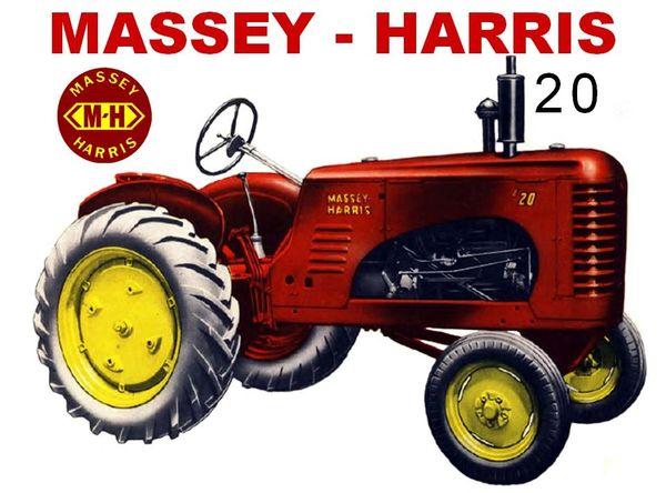 MASSEY HARRIS 20 WF TEE SHIRT