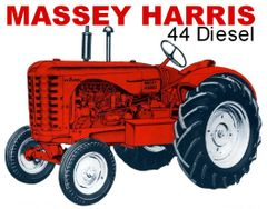 MASSEY HARRIS 44 STD DIESEL TEE SHIRT