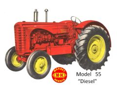 MASSEY HARRIS 55 DIESEL TEE SHIRT