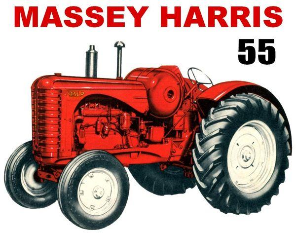 MASSEY HARRIS 55 LP TEE SHIRT