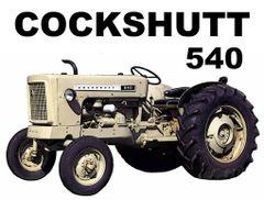 COCKSHUTT 540 TEE SHIRT