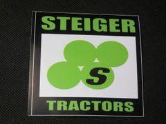 STEIGER LOGO BUMPER STICKER