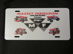 MASSEY FERGUSON LAWN AND GARDEN TRACTORS LICENSE PLATE