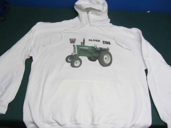 OLIVER 1755 OPEN STATION HOODED SWEATSHIRT