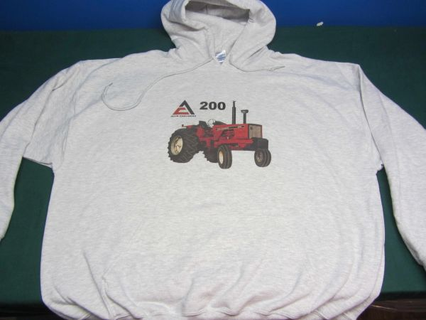 ALLIS CHALMERS 200 (open station) HOODED SWEATSHIRT
