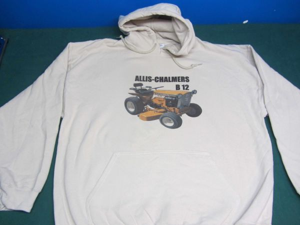 ALLIS CHALMERS B12 HOODED SWEATSHIRT