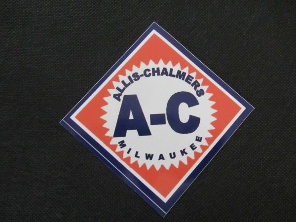 ALLIS CHALMERS DIAMOND LOGO Bumper sticker