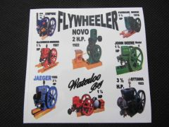 FLYWHEELER Bumper sticker