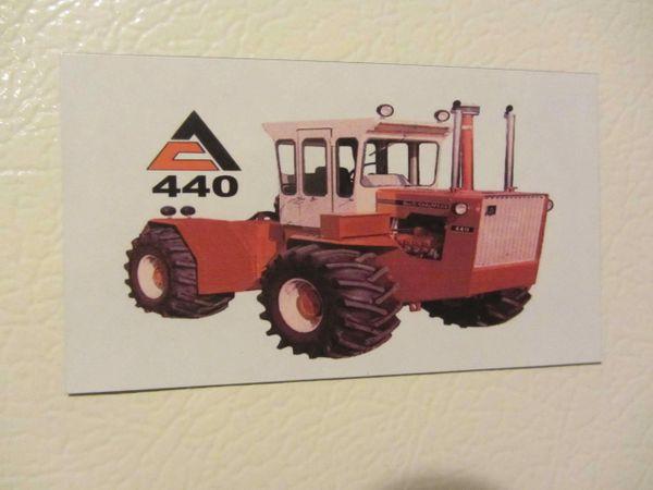 ALLIS CHALMERS 440 Fridge/toolbox magnet