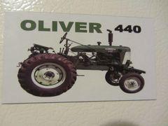 OLIVER 440 Fridge/toolbox magnet