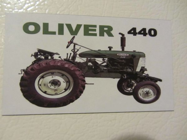 OLIVER 440 Fridge/toolbox magnet