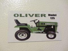 OLIVER 125 Fridge/toolbox magnet