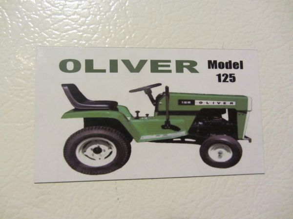 OLIVER 125 Fridge/toolbox magnet
