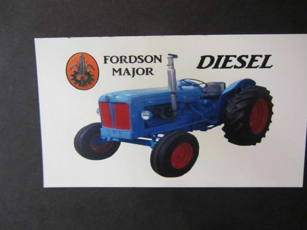 FORDSON MAJOR DIESEL Fridge/toolbox magnet