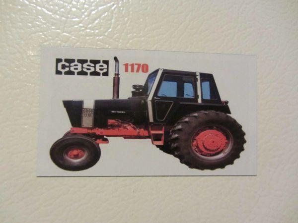 CASE 1170 BLACK KNIGHT Fridge/toolbox magnet