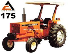 ALLIS CHALMERS 175 (2 post canopy) TEE SHIRT