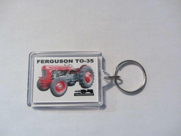 FERGUSON TO-35 (RED) KEYCHAIN