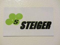 STEIGER LOGO Fridge/toolbox magnet