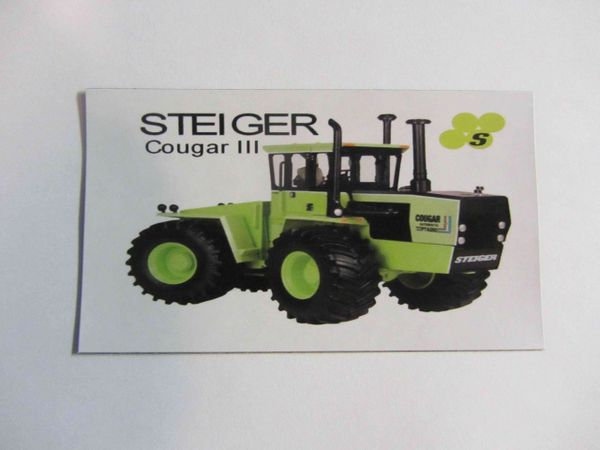 STEIGER COUGAR III Fridge/toolbox magnet