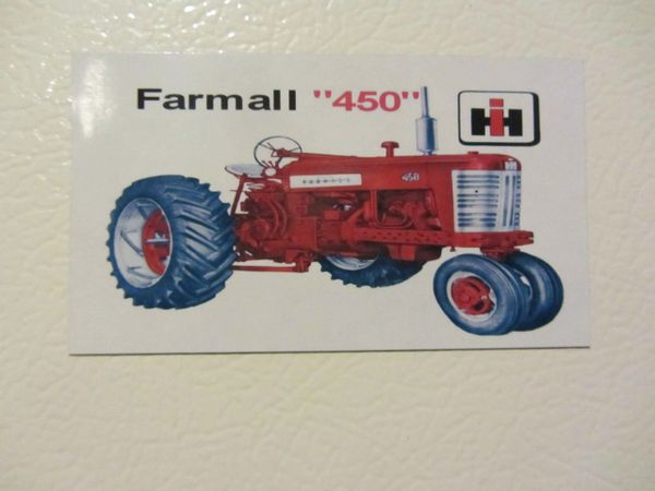 FARMALL 450 NF Fridge/toolbox magnet