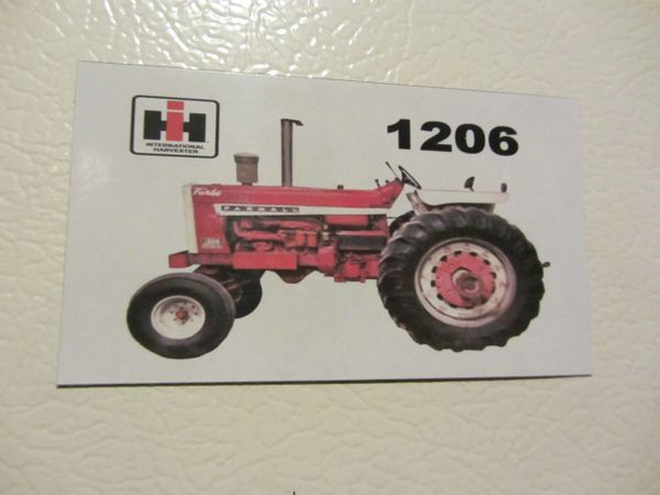 FARMALL 1206 (image #1) Fridge/toolbox magnet