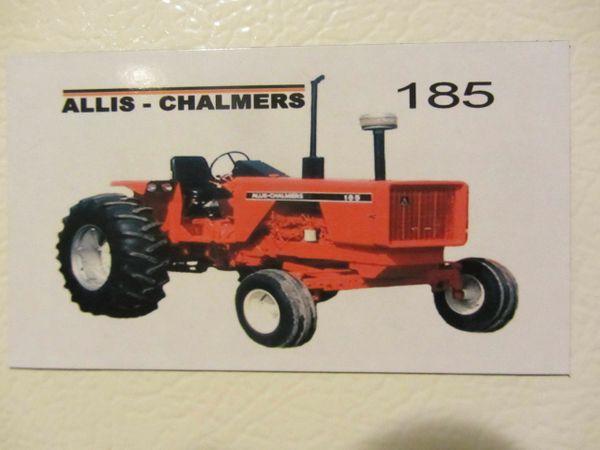 ALLIS CHALMERS 185 Fridge/toolbox magnet