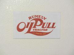 RUMELY OIL PULL LOGO Fridge/toolbox magnet