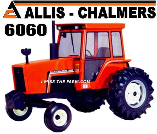 ALLIS CHALMERS 6060 TEE SHIRT