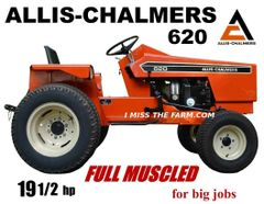 ALLIS CHALMERS 620 (FULL MUSCLED) TEE SHIRT