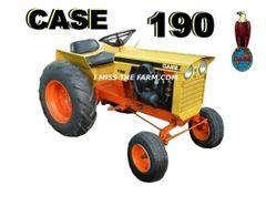 CASE 190 TEE SHIRT