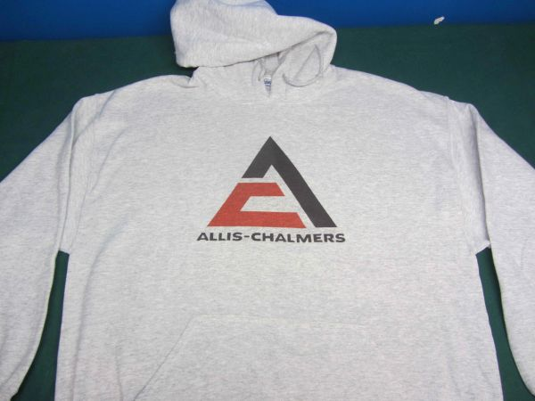 ALLIS CHALMERS TRIANGLE LOGO HOODED SWEATSHIRT