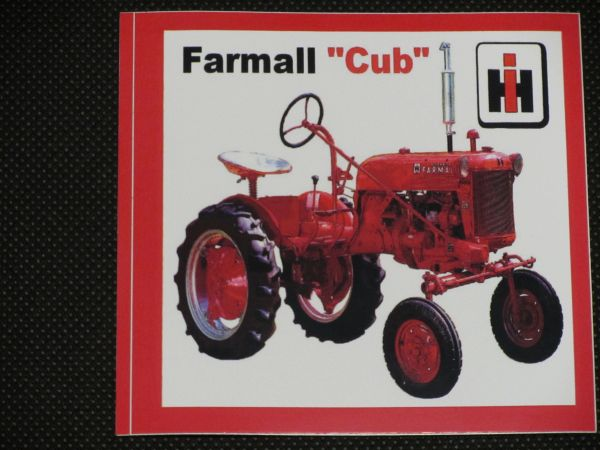 FARMALL CUB Bumper sticker