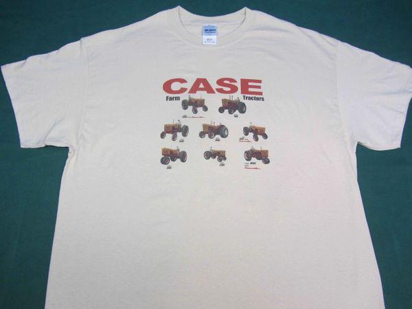 "CASE ""1957 FARM TRACTORS"" IMAGE #2 TEE SHIRT"