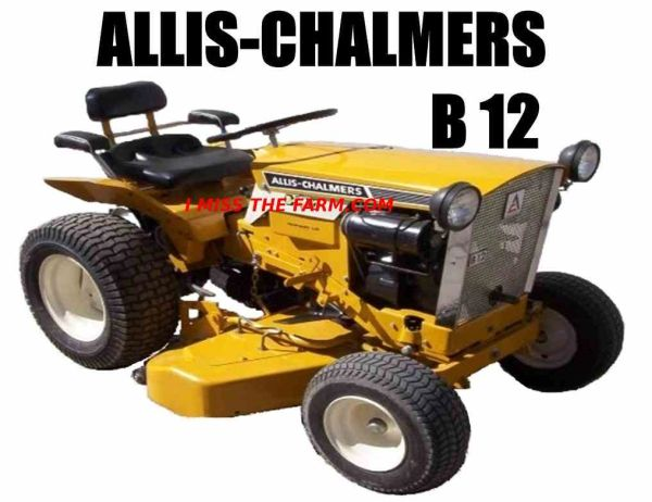 ALLIS CHALMERS B12 MOUSEPAD